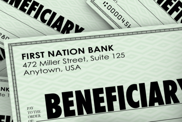 Beneficiary check