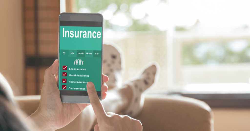 Buying insurance online